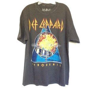 Def Leppard T Shirt Dress